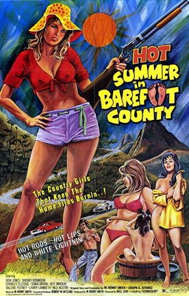 Framed Hot Summer in Barefoot Country Print