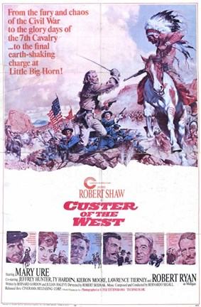 Framed Custer of the West Print