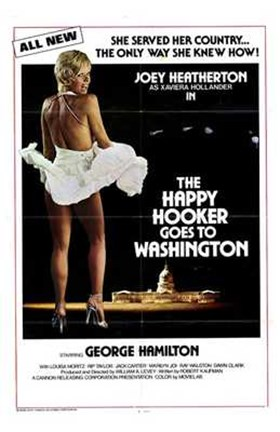 Framed Happy Hooker Goes to Washington Print