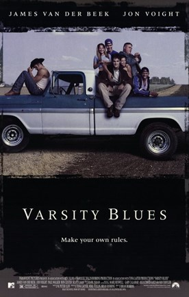 Framed Varsity Blues Print