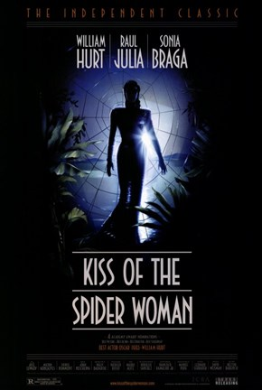 Framed Kiss of the Spider Woman Print