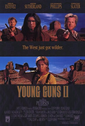 Framed Young Guns 2 Print