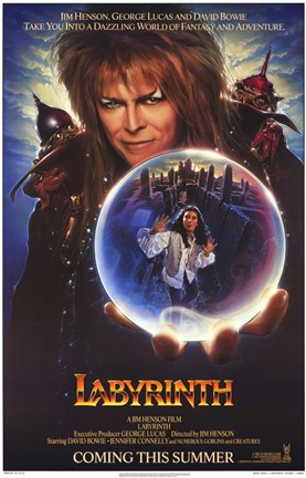 Framed Labyrinth - crystal ball Print