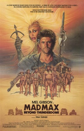 Framed Mad Max Beyond Thunderdome Print