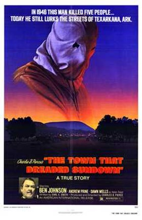 Framed Town That Dreaded Sundown Print