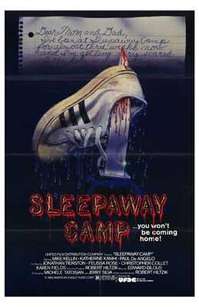 Framed Sleepaway Camp Print