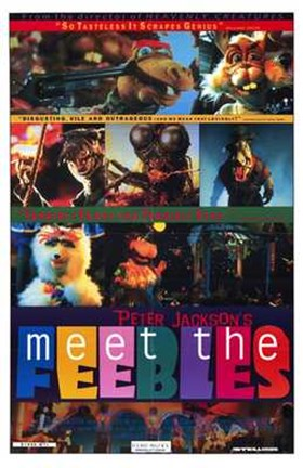 Framed Meet the Feebles Print