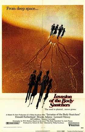 Framed Invasion of the Body Snatchers From Depp Sapce... Print