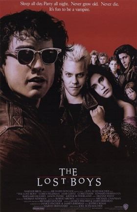 Framed Lost Boys Print