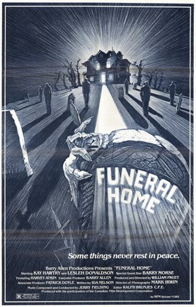Framed Funeral Home Print
