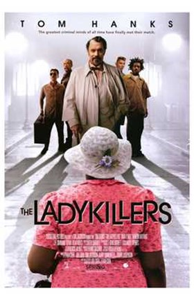 Framed Ladykillers - movie poster Print