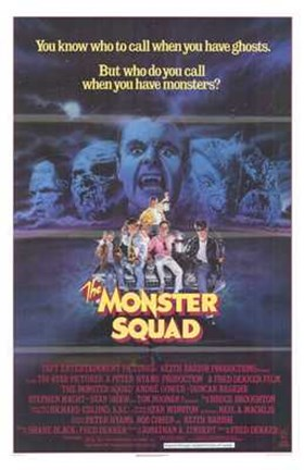 Framed Monster Squad Print