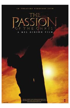 Framed Passion of the Christ - A Mel Gibson Film Print