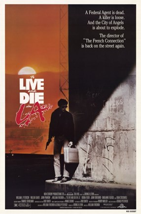 Framed to Live and Die in La (movie poster) Print