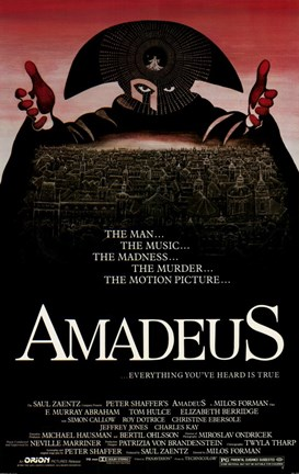 Framed Amadeus The Man... The Music... Print