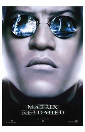 Framed Matrix Reloaded Morpheus Print