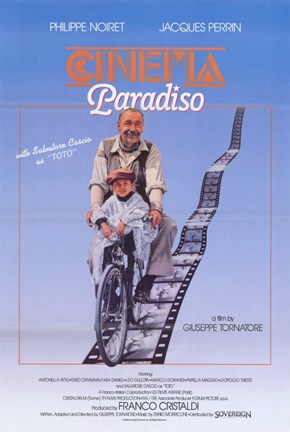 Framed Cinema Paradiso Movie Reel Print