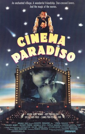 Framed Cinema Paradiso Big Screen Print