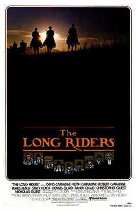 Framed Long Riders Print
