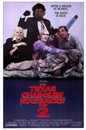 Framed Texas Chainsaw Massacre 2 Print