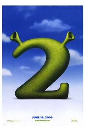 Shrek 2 Logo Wall Poster By Unknown At Fulcrumgallery Com