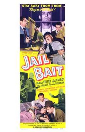 Framed Jail Bait Print