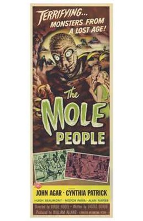 Framed Mole People Agar and Patrick Print