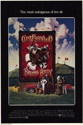 Framed Bronco Billy Print