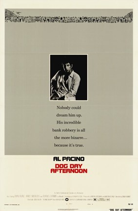 Framed Dog Day Afternoon - Al Pacino Print