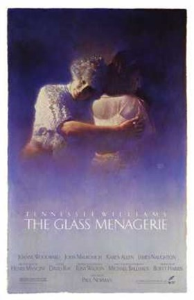 Framed Glass Menagerie Tennesse Williams Print