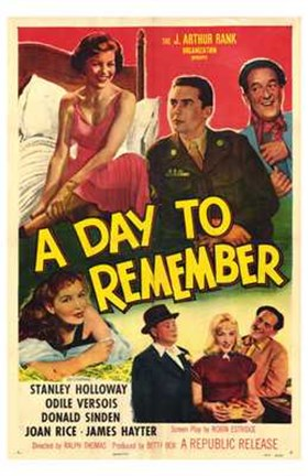 Framed Day to Remember - Movie Poster Print