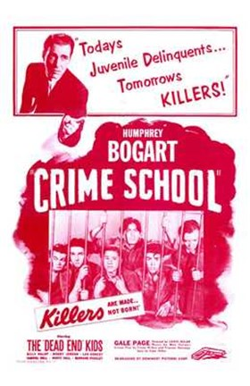 Framed Crime School Print