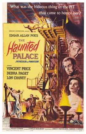 Framed Haunted Palace Print