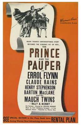 Framed Prince and the Pauper Print
