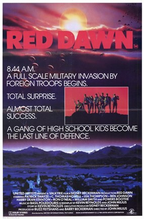 Framed Red Dawn Print