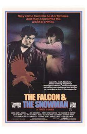 Framed Falcon and the Snowman Print