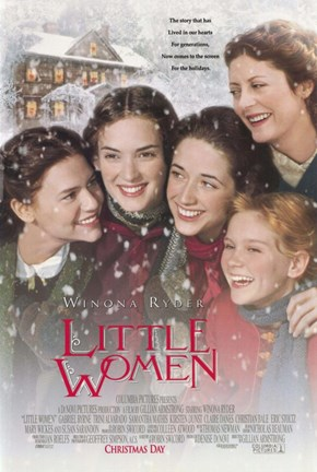 Framed Little Women - snow Print