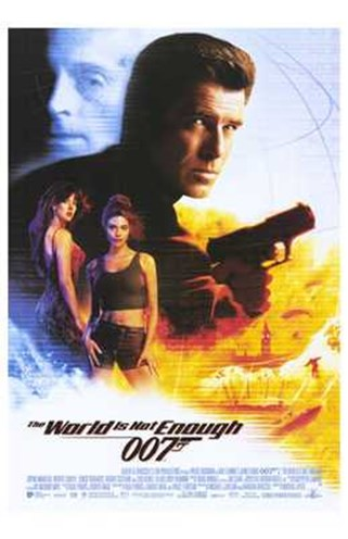 the world is not enough poster. THE WORLD IS NOT ENOUGH POSTER