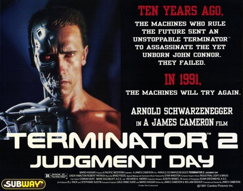 Framed Terminator 2: Judgment Day Print