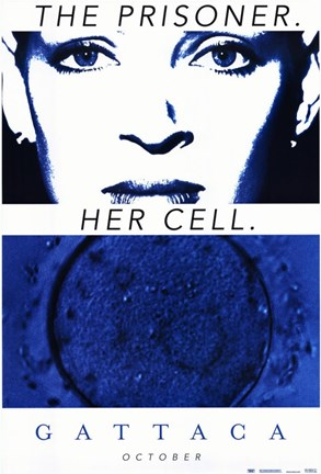 Framed Gattaca The Prisoner. Her Cell. Print