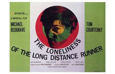 Framed Loneliness of the Long Distance Runner Print