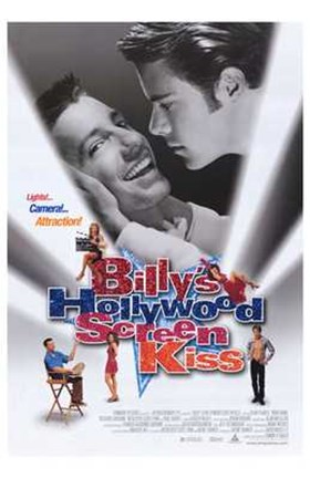 Framed Billy's Hollywood Screen Kiss Print
