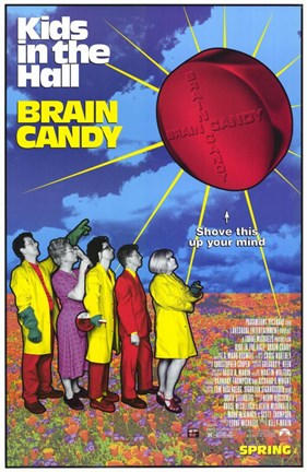 Framed Brain Candy Print