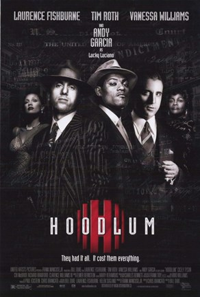 Framed Hoodlum Film Print