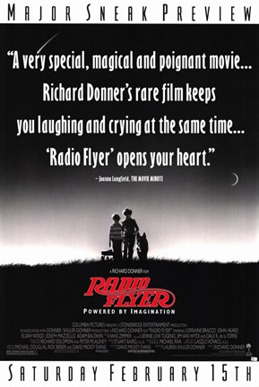 Framed Radio Flyer Film Poster Print
