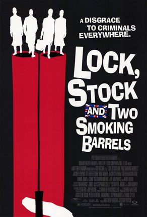 Framed Lock Stock and 2 Smoking Barrels Movie Print