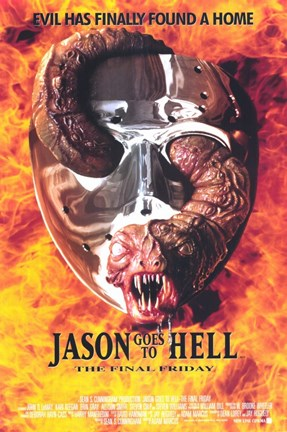 Framed Jason Goes to Hell: the Final Friday Print