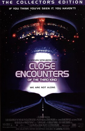 Framed Close Encounters of the Third Kind You Are Not Alone Print