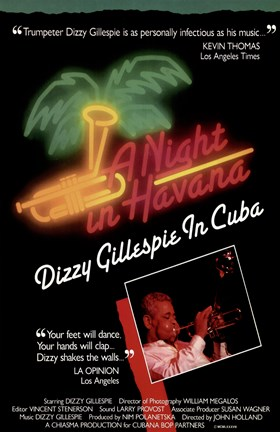 Framed Night in Havana: Dizzy Gillespie in Print