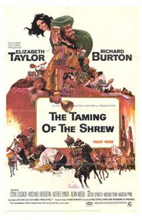 Framed Taming of the Shrew Print